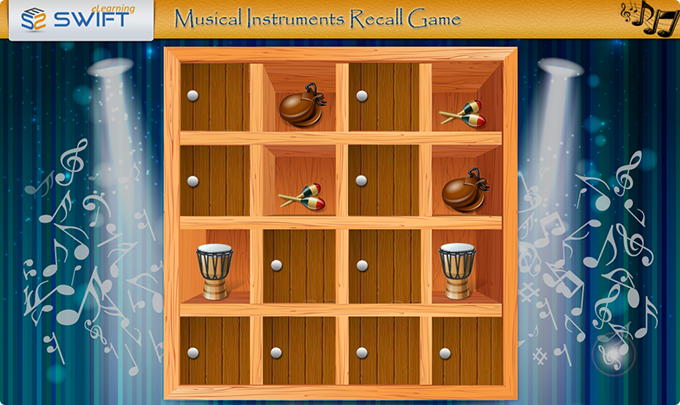 Musical-instruments-recall-Game