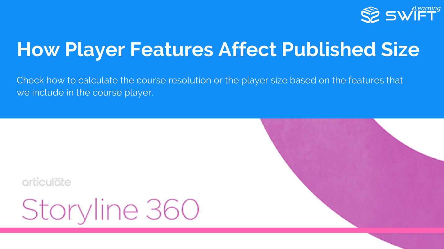 Articulate Storyline 360 – Calculate Course Resolution Based On Features Selected – Player Size