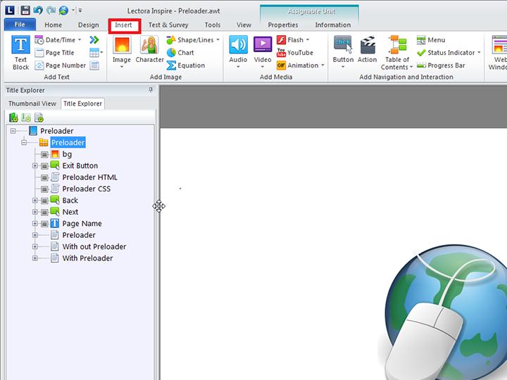 Lectora Import External HTML Object