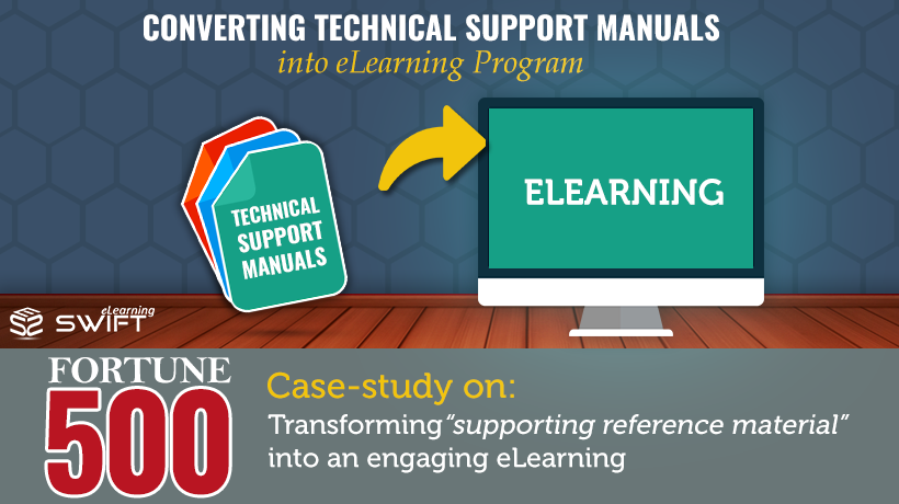 Self-Paced eLearning for Fortune500 Company