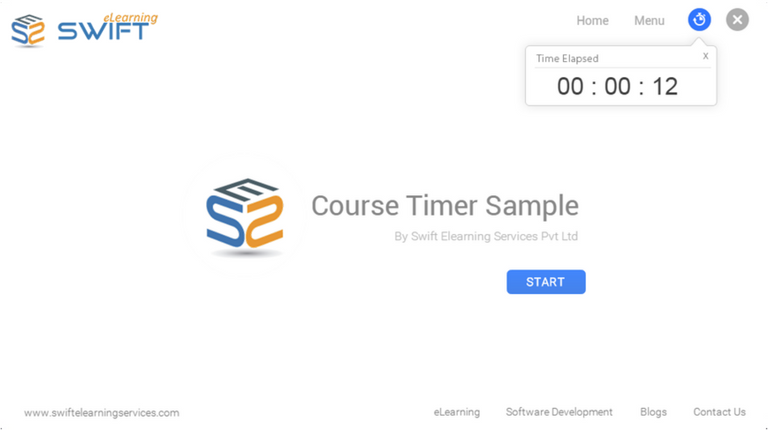 How add a Course Timer in Articulate Storyline 3 or 360