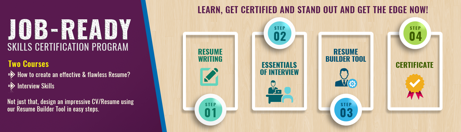 Job-Ready Skills Certification Program.