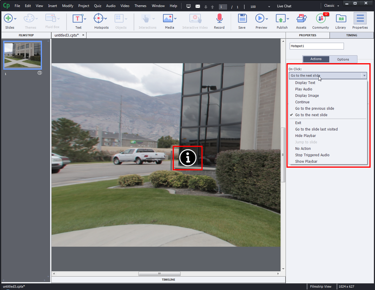 Adobe Captivate 2019 - Virtual Reality project