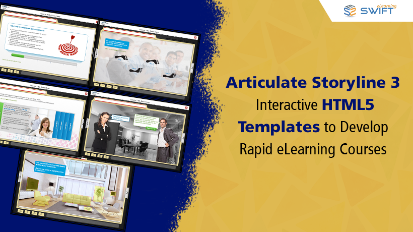 Articulate Storyline 3 - Interactive HTML5 Templates
