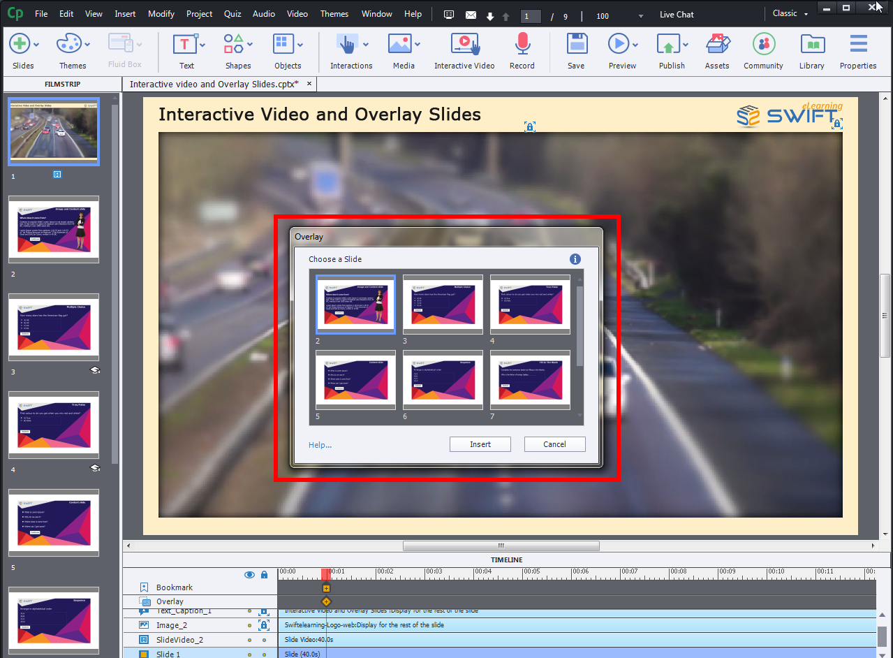 Adobe Captivate 2019-Convert Simple Videos Into Interactive Videos With Overlay Slides Feature