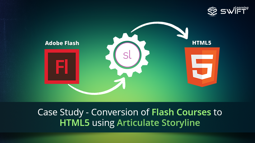 Conversion of Flash Courses to HTML5 using Articulate Storyline