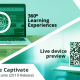 Adobe Captivate 2019 Features – Live Device Preview and 360⁰ Learning Experiences Live-device-preview-360⁰-learning-experiences [1] Adobe Captivate 2019, A lot many features have been released to create more engaging eLearning courses. In this blog, we are going to discuss two new features, Live Device Preview, and 360 slide. The live device preview option allow you to preview the Virtual Reality (VR) e-Learning courses by connecting them to the mobile device. You can preview all your VR courses as well as responsive courses in your device once you establish the connection with the Captivate tool. This could be done by generating a QR code in the Captivate tool that you can scan using the QR scanner app in your mobile device. Another new feature in Captivate 2019 is 360 slide which maximizes your responsive courses into the next level. With this feature, you can import a 360 slide in the responsive project and even you can add interactive elements like hotspots which increases the learner remediation. Let's look at both the features: To begin, open a Responsive Project or a Virtual Reality Project and click on the Preview option and select Live Preview on Devices from the drop-down list. degree 1 A browser will open with a QR code and a sharable link. degree 2 Scan the QR code on your device using QR scanner app. Then you can view the responsive project in your mobile device. degree3 Note: The changes made in the original project will also be reflected in the previewing project once the connection is established between the devices. Now, let's look at 3600 Learning Experiences: Open any 2D Adobe Captivate project and click on Slides option and choose 360 Slide from the drop-down list degree 4 You can also add interactive elements to the slide and make it more engaging.degree 5Note: This output will be supported in the 2D browser but not in VR devices. 3D slides can be navigable by mouse. Now that you can produce comprehensive courses by combining different activitie