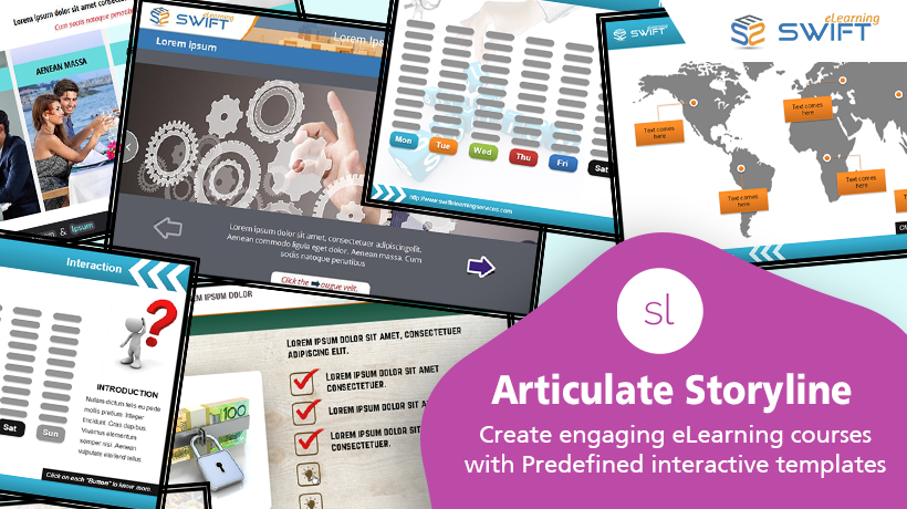 Articulate Storyline Templates for Custom eLearning Development