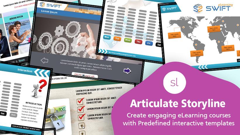 Articulate Storyline Templates for Custom eLearning Development
