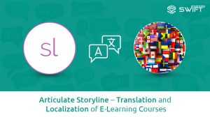 Articulate Storyline – Translation and Localization of E-Learning Courses