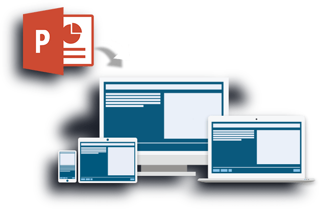 Convert PowerPoint to elearning