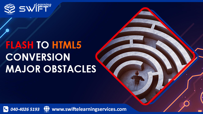 Conversion from Flash to HTML5 - Major Obstacles