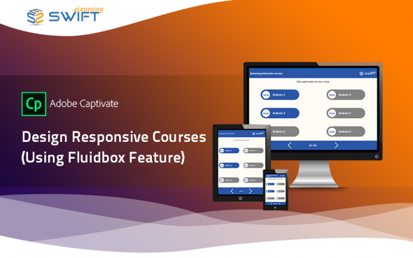 Responsive eLearning courses using Adobe Captivate 2019 Fluid Boxes