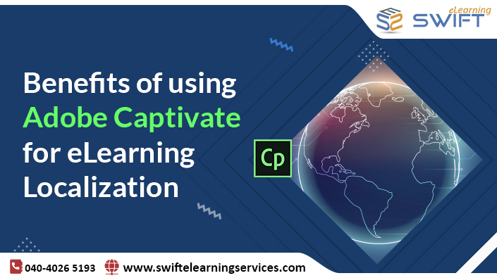 Benefits of using Adobe Captivate for eLearning Localization