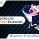 Key FAQs for Flash to HTML5 Conversion