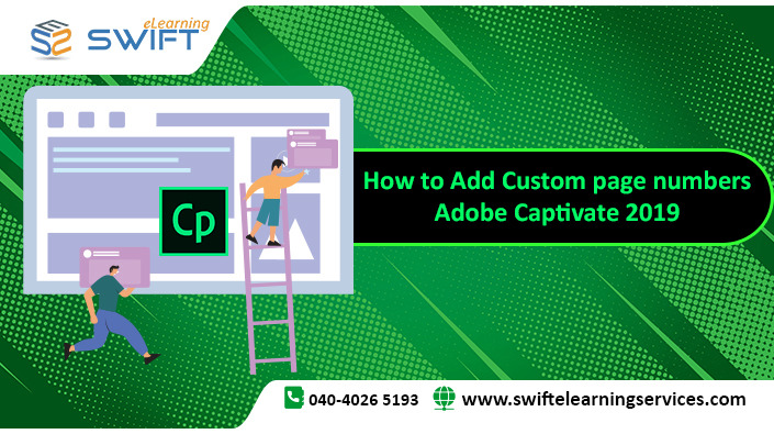 How to Add Custom page numbers – Adobe Captivate 2019