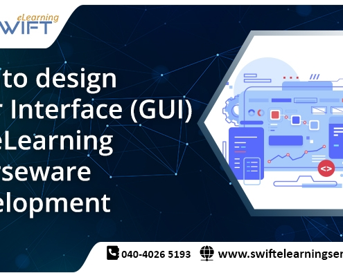 Tips to design User Interface (GUI) for eLearning courseware development