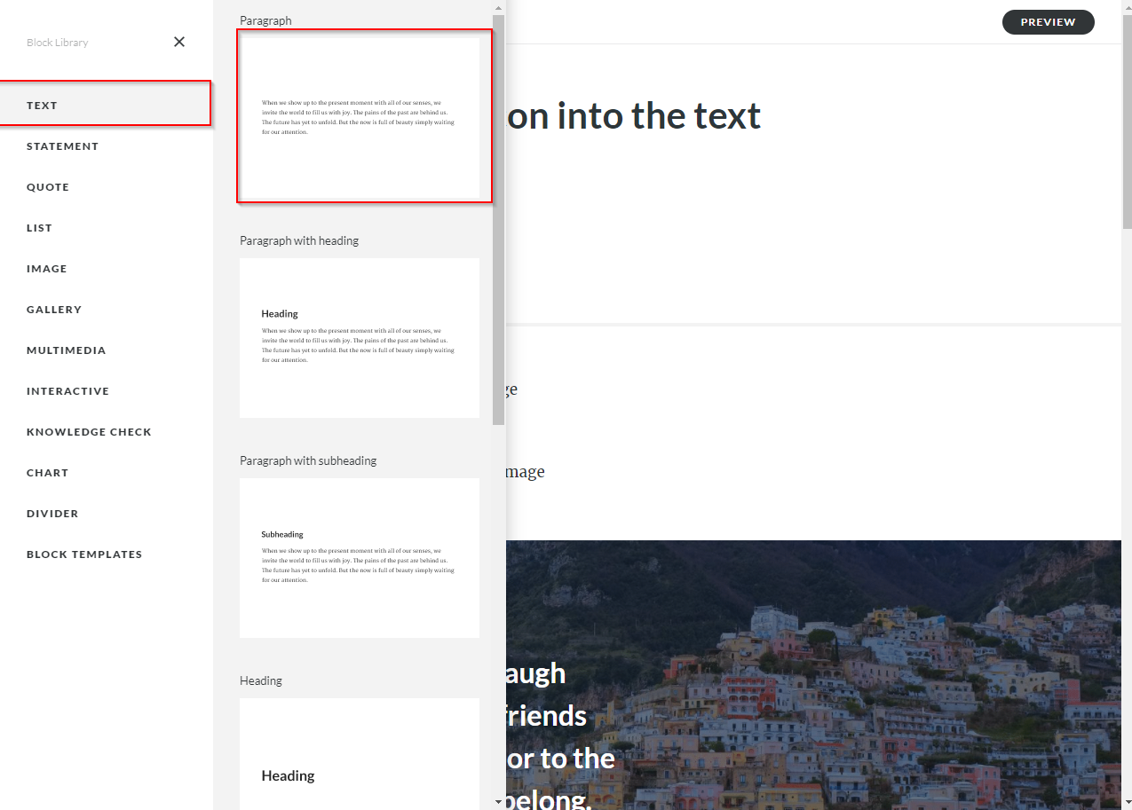 adding custom image into the text - articulate rise 01