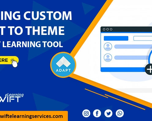 custom font to theme adapt learning