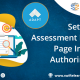 setting up assessment results page in adapt authoring tool