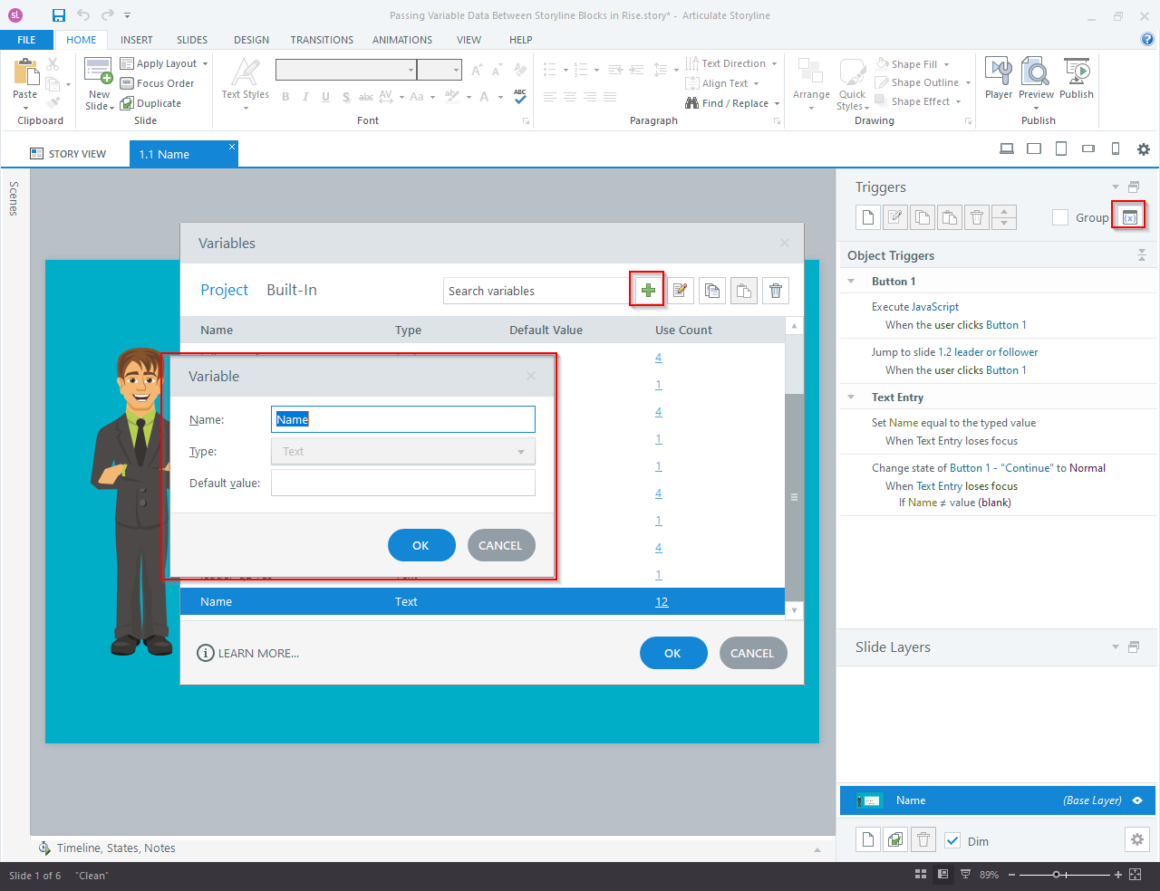 Articulate Storyline 360 to Articulate Rise Blocks 1