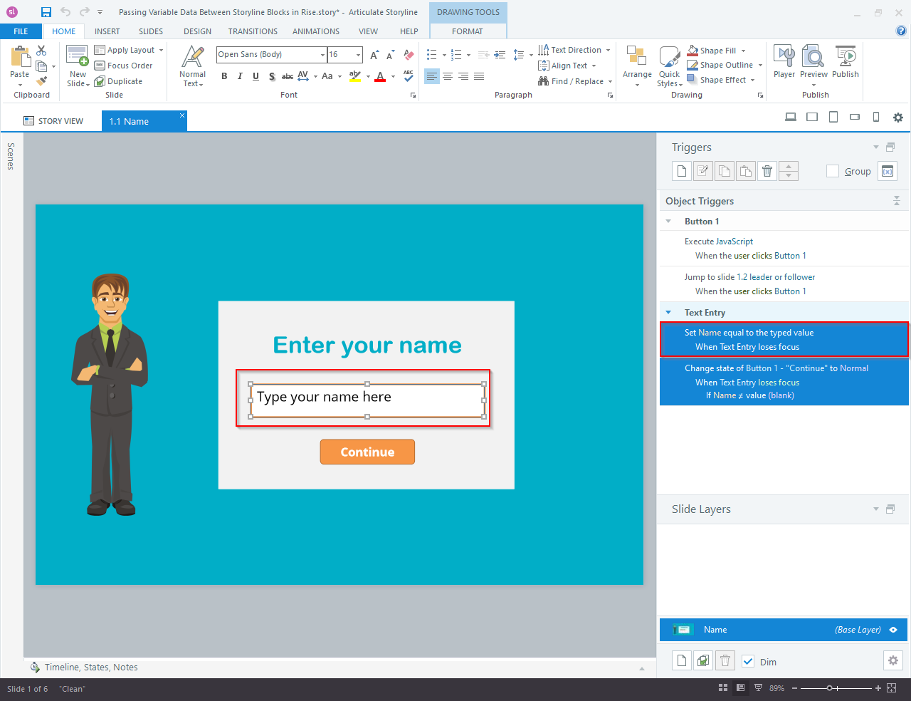 Articulate Storyline 360 to Articulate Rise Blocks 2