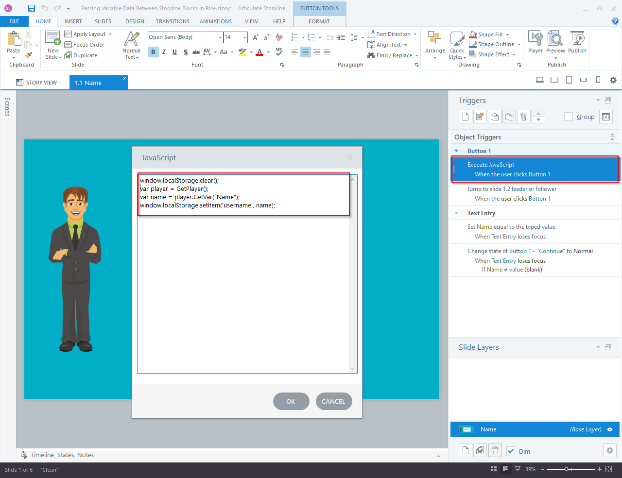 Articulate Storyline 360 to Articulate Rise Blocks 3