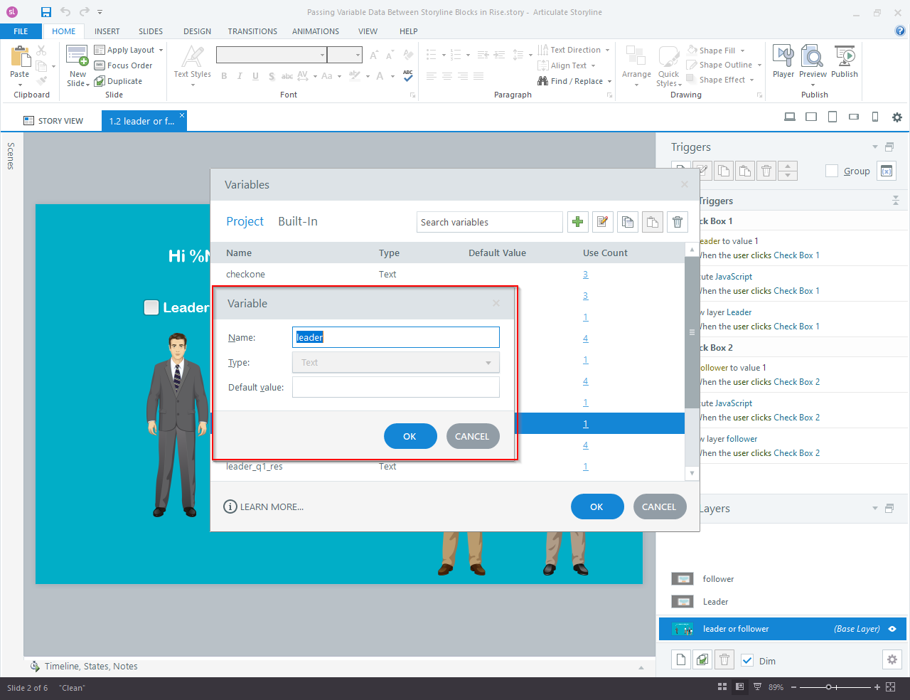 Articulate Storyline 360 to Articulate Rise Blocks 5