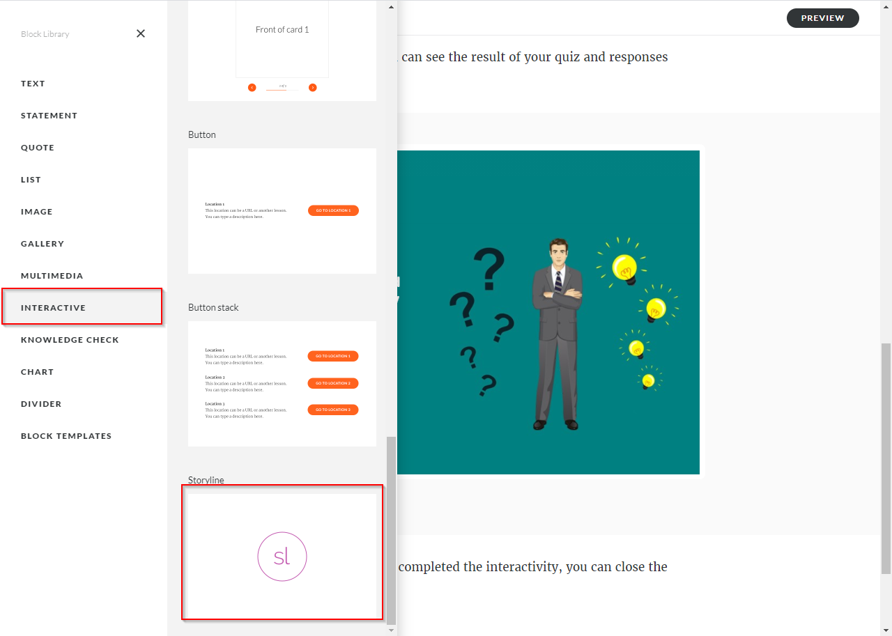 Articulate Storyline 360 to Articulate Rise Blocks 9