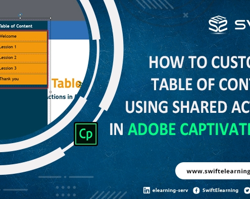 table of contents in adobe captivate