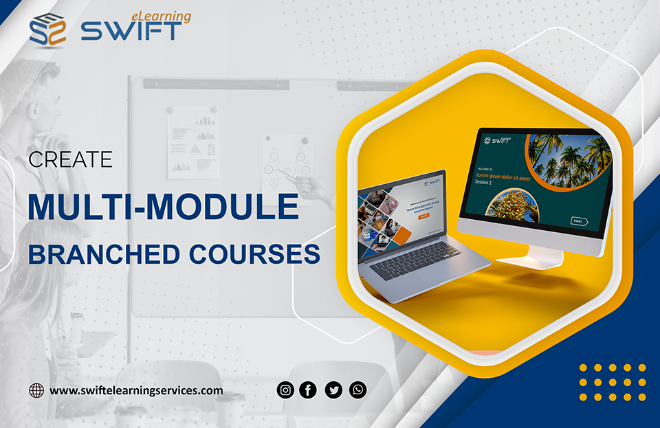How to Create Multi-Module Branched Course With Adobe Captivate 2019